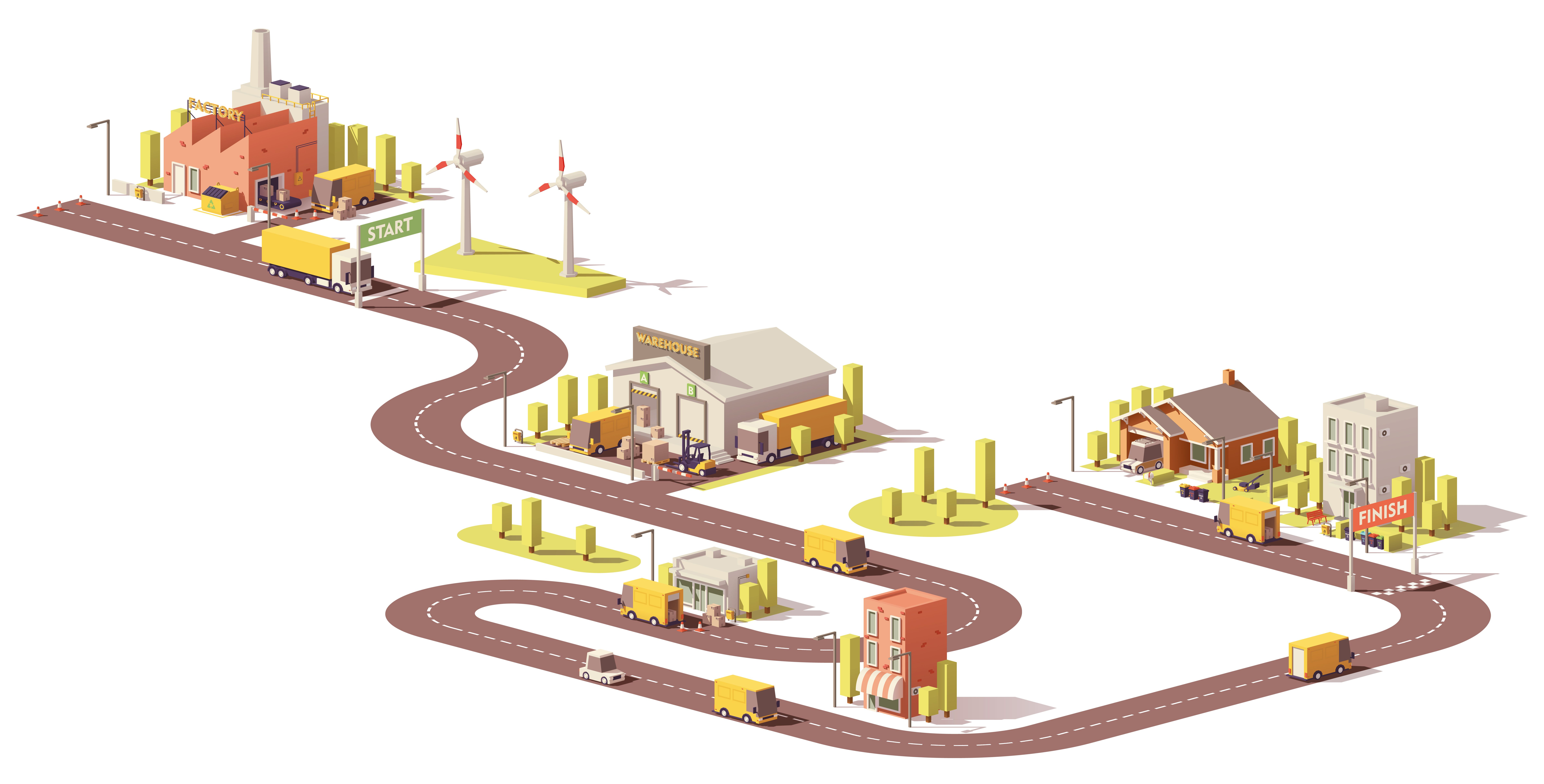 gestion-de-la-chaîne logistique-exemple