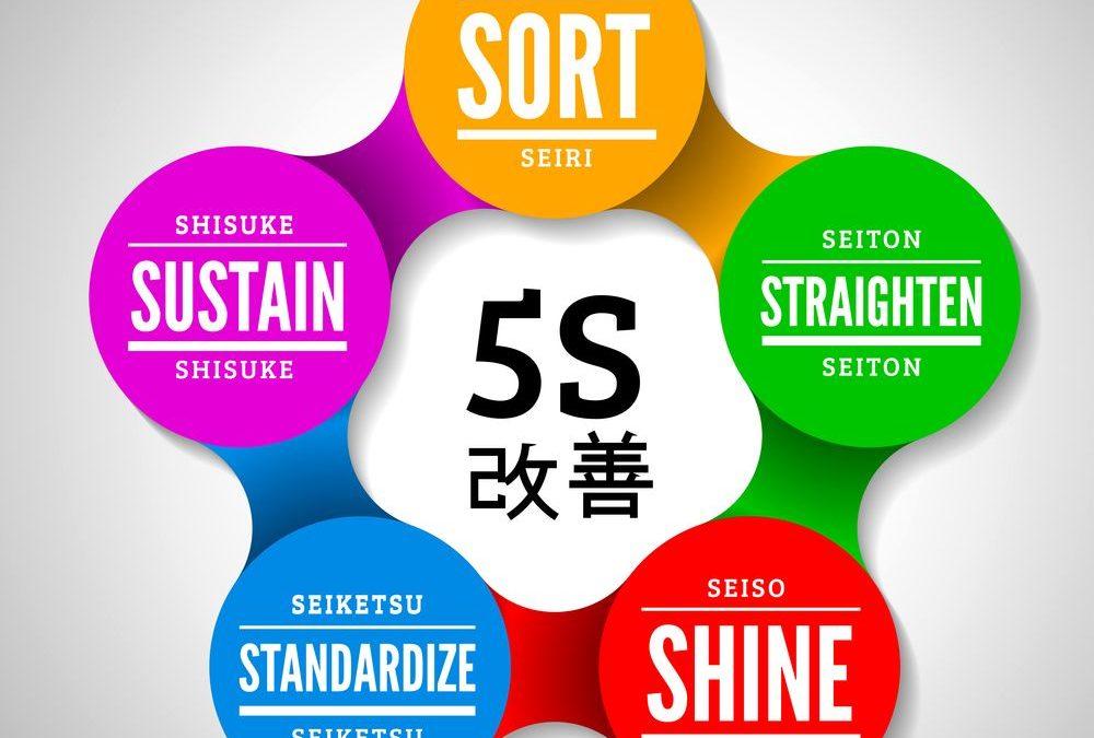 Les 5 S : quels sont les avantagesde cette méthode pour votre chaîne logistique?