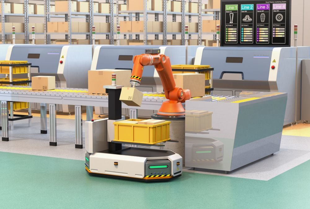 Robot logistique : comment transforme t-il la supply chain au quotidien ?