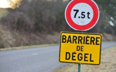 Barrière de dégel : comment l'anticiper ?