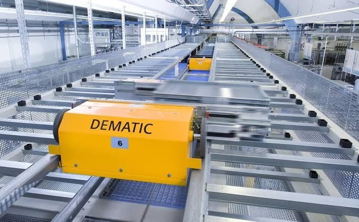 Dematic : des solutions pour une supply chain connectée !