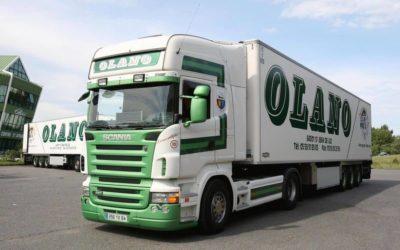 Groupe olano : l'efficacité au service du transport de marchandises !