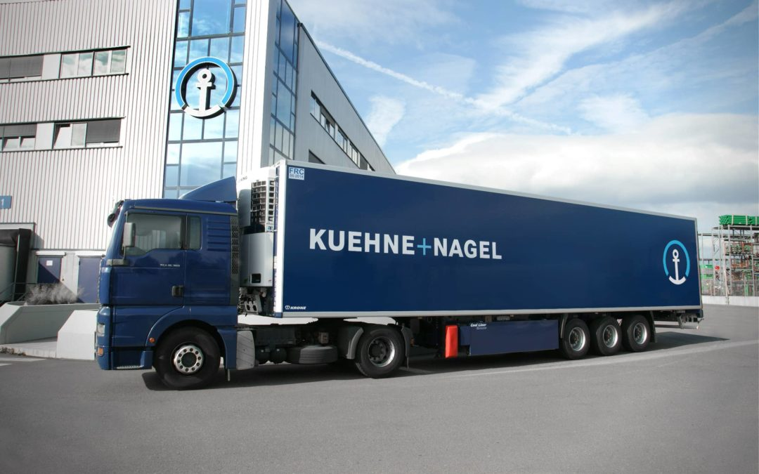 Kuehne+Nagel optimise le management de votre supply chain !
