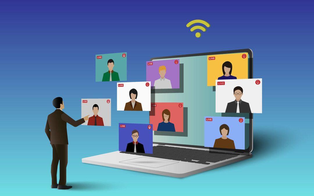 Prospection commerciale :Pourquoi organiser une conférence en ligne ?