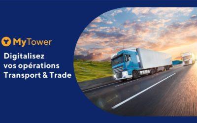 My Tower : des solutions TMS & GTM pour votre Supply Chain