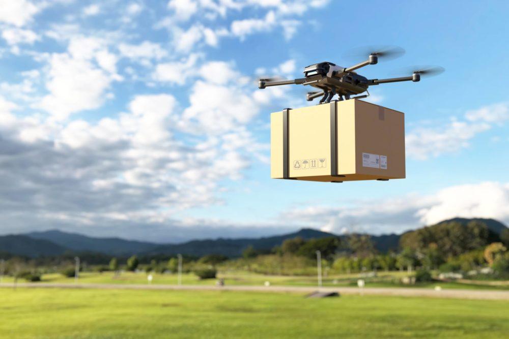 Livraison par drone en milieu rural