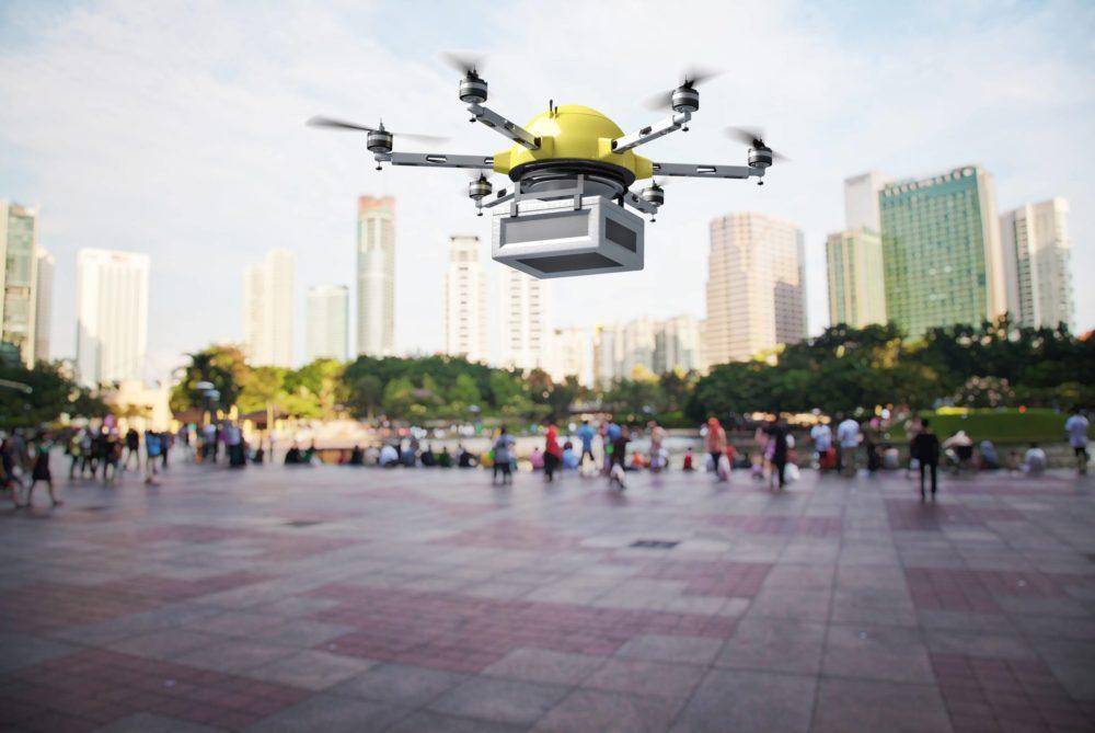 Livraison par drone en milieu urbain